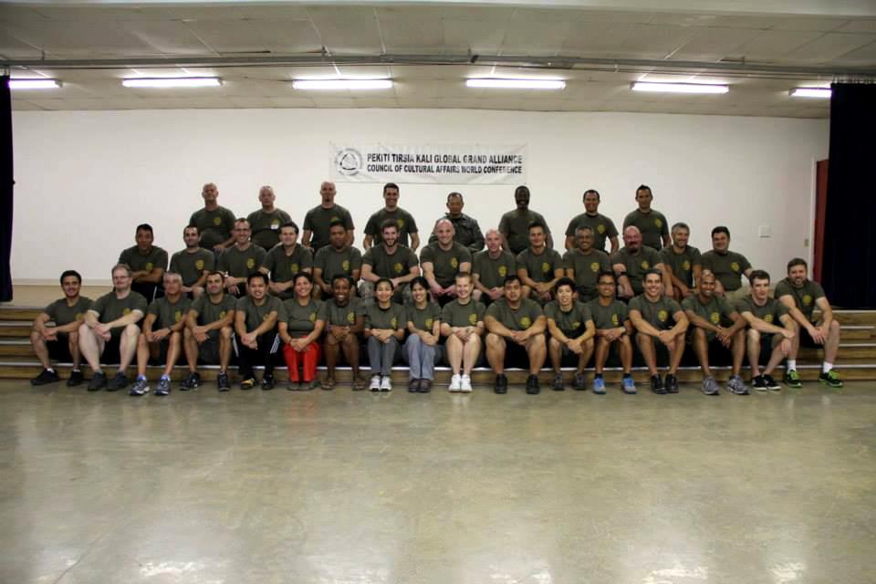 Pekiti Tirsia Kali Grand Alliance World Conference – Texas, September -2013